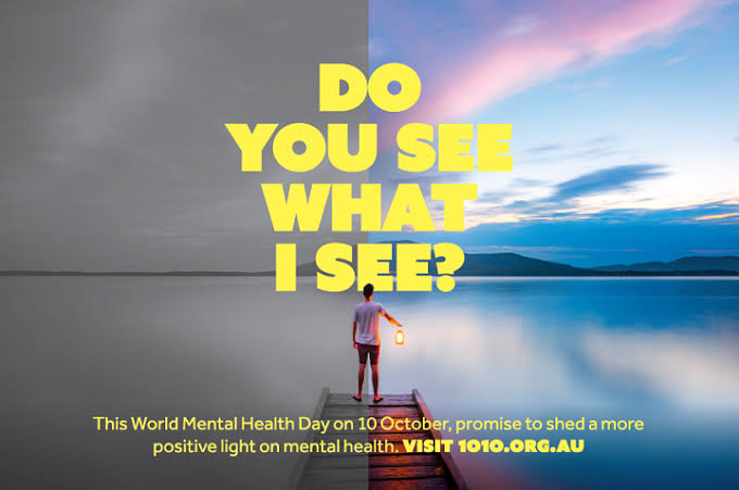 "World Mental Health Day and the ""Do You See What I See?"" Campaign."