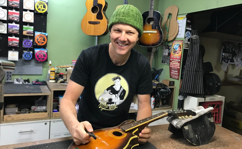 Local Business Owner Mending Mental Health Through Making Music.